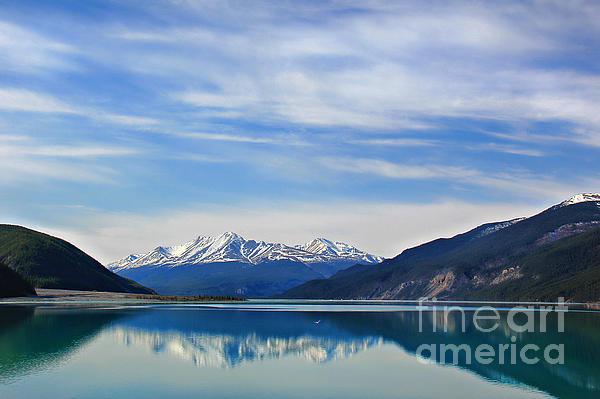Muncho Lake Photograph - Muncho Lake Bc Canada by Leslie Kirk