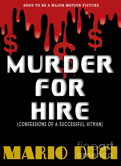 Book Cover Photograph - Murder For Hire Book Cover by Mike Nellums