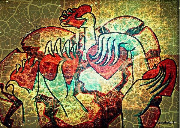 Heart Digital Art - My Heart Is All I Offer by Paulo Zerbato