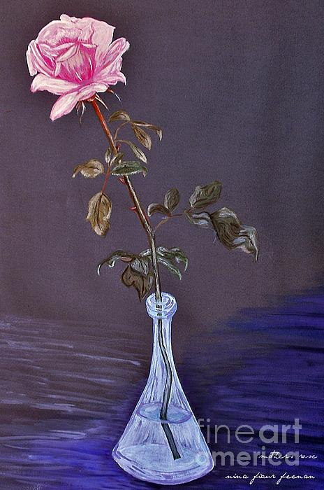 My Mothers Rose Photograph - My Mothers Rose by Nina Ficur Feenan