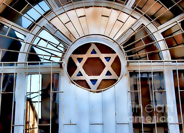 Synagogue Photograph - Nachlaot Synagogue by Elena Comens