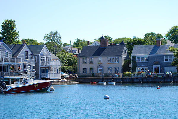 Cape Cod Photograph - Nantucket Harbor by Lorena Mahoney