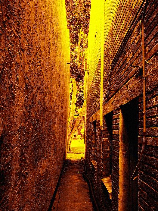 narrow Walkway Photograph - Narrow Way To The Light by Glenn McCarthy Art and Photography