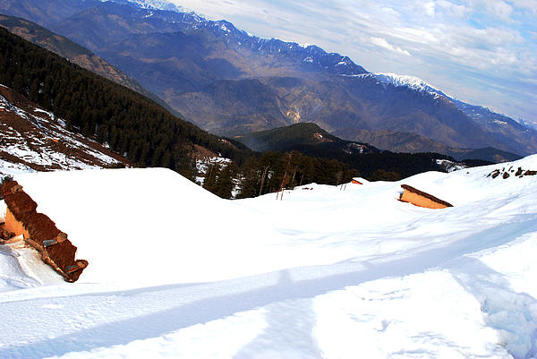 Landscape Photograph - Nathatop- Jammu And Kashmir- Viators Agonism by Vijinder Singh