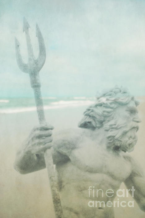 Neptune Photograph - Neptunes Myth by Sharon Coty