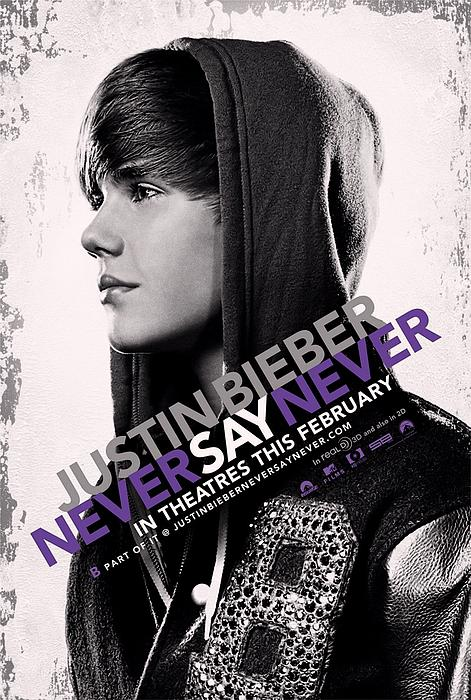 Justin Bieber Photograph - Never Say Never 2 by Movie Poster Prints