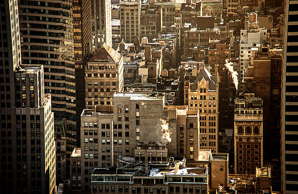 Nyc Photograph - New York Cityscape by Vivienne Gucwa