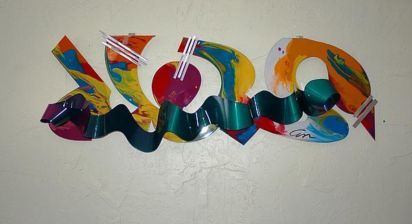 Welded Sculpture - New York Graffiti by Mac Worthington