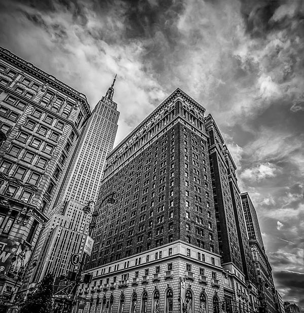 Architecture Photograph - New York New York by Shari Mattox