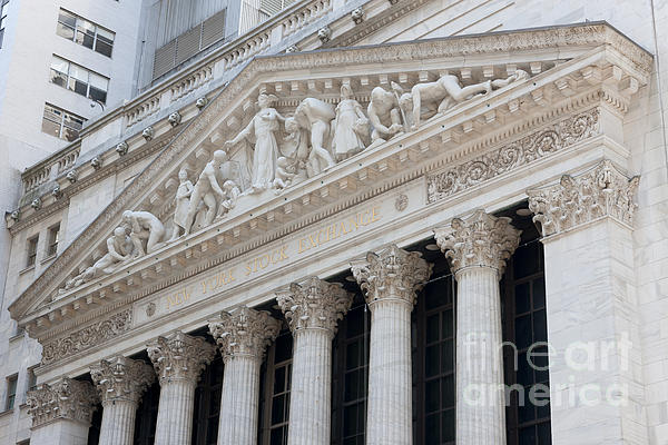 America Photograph - New York Stock Exchange I by Clarence Holmes