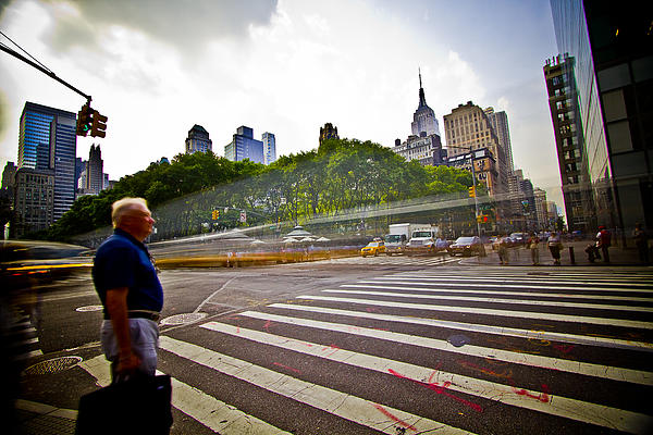 New York Photograph - New York - Waiting... by Amador Esquiu Marques