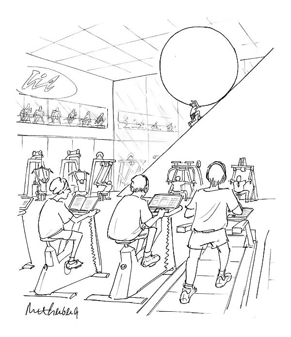 New Yorker July 20th, 1998 Drawing by Mort Gerberg