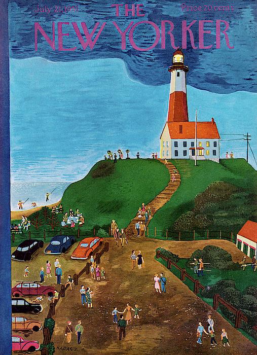 New Yorker July 21st, 1951 Painting by Ilonka Karasz