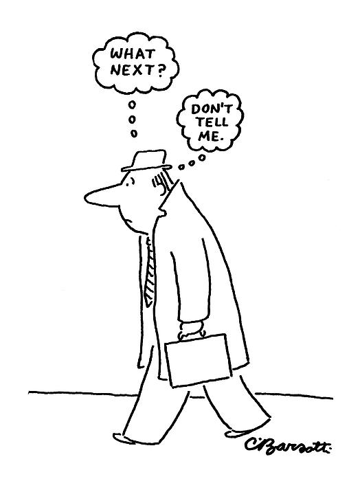 New Yorker June 20th, 1977 Drawing by Charles Barsotti