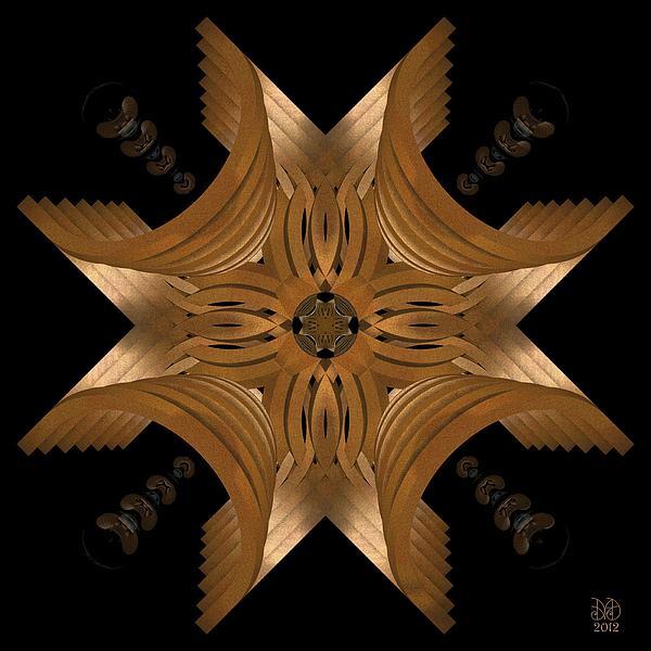 Nexus Digital Art - Nexus by David Voutsinas
