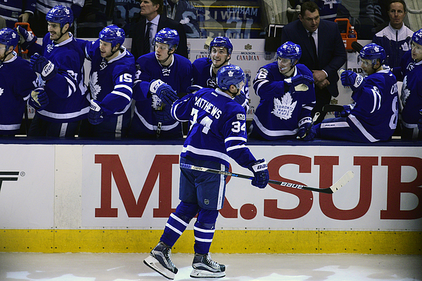 Nhl: Apr 23 Round 1 Game 6 - Capitals At Maple Leafs Photograph by Icon Sportswire