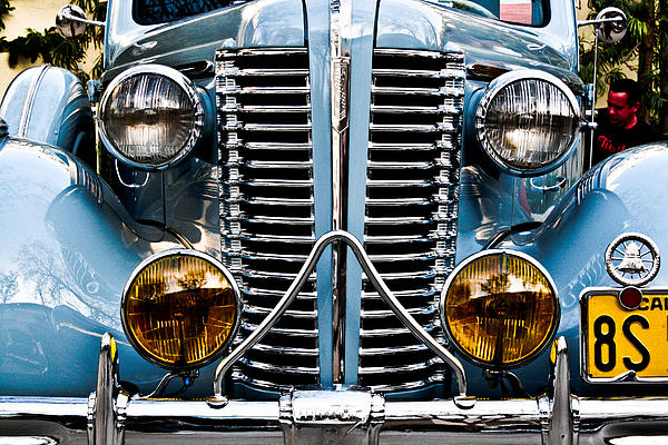 Classic Photograph - Nice Headlights by Merrick Imagery