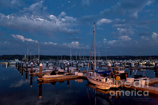 Blue Photograph - Night Beckons by Beve Brown-Clark Photography