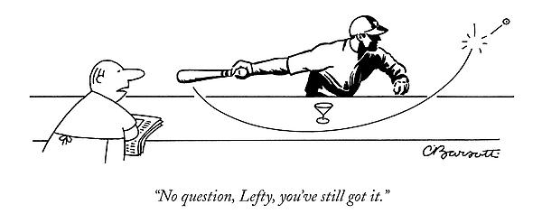 No Question Drawing by Charles Barsotti