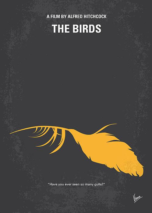 Birds Digital Art - No110 My Birds Movie Poster by Chungkong Art