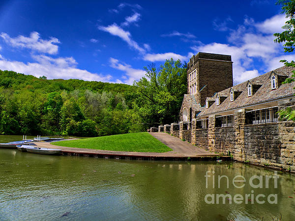 Boat Photograph - North Park Boathouse In Hdr by Amy Cicconi
