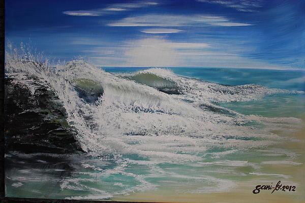 Northwind Painting by Gani Banacia