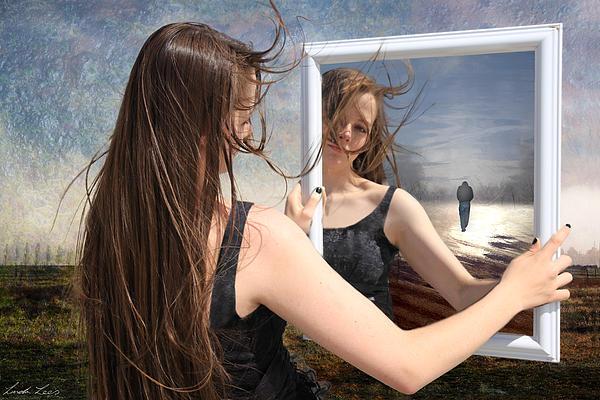 Sad Digital Art - Not Pretty Enough by Linda Lees