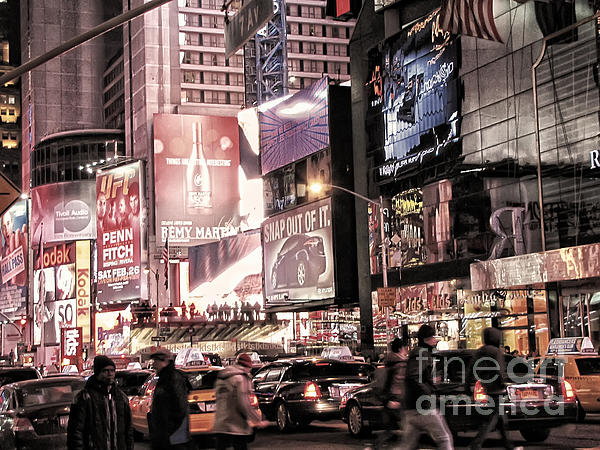 New York City Photograph - Nyc - Times Square by Jesse Forrister