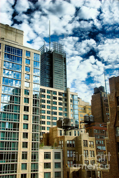 Apartment Photograph - Nyc Urban Hdr by Amy Cicconi
