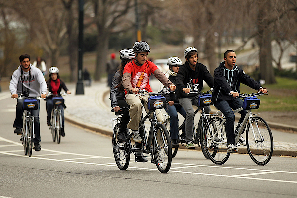 Nypd Steps Up Ticketing Of City Bicyclists Photograph by Spencer Platt