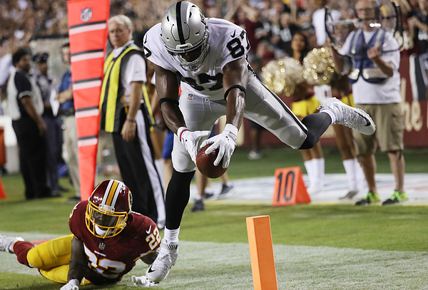 Oakland Raiders V Washington Redskins Photograph by Rob Carr