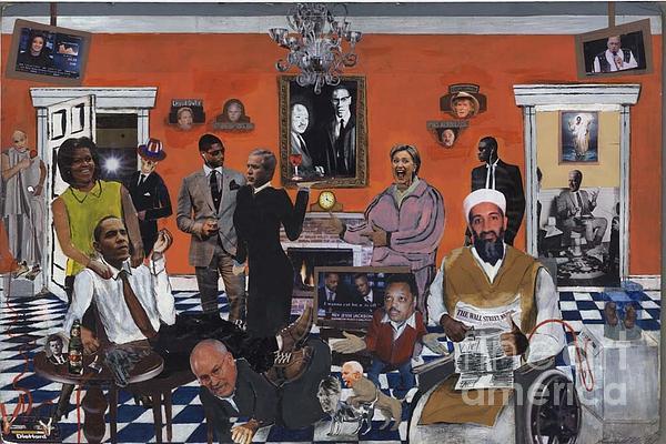 Obama Mixed Media - Obama Nation by Reginald Williams