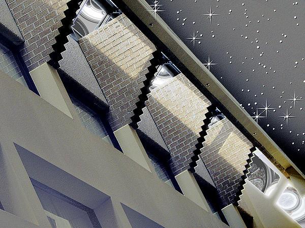 Architecture Digital Art - Observation Station by Wendy J St Christopher