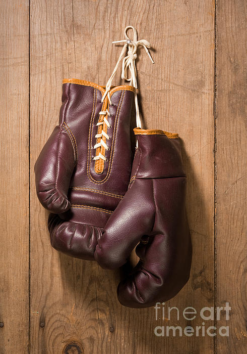 Boxing Gloves Digital Art - Old Boxing Gloves by Danny Smythe