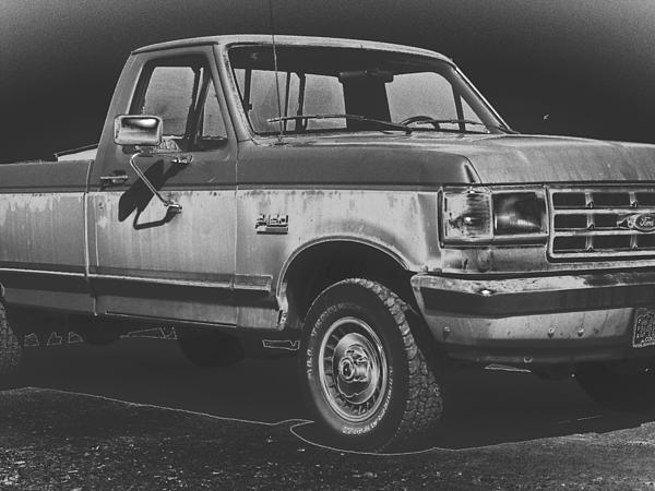 Old Photograph - Old Ford by Jeremy Shaffer