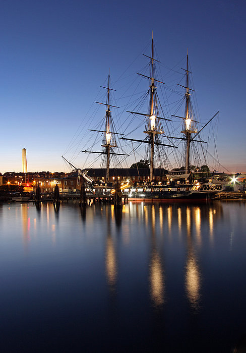Boston Photograph - Old Ironsides by Juergen Roth