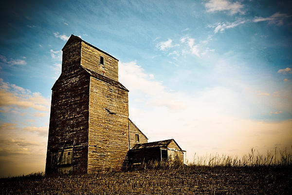 Abandoned Photograph - Old Lepine Elevator by Gerald Murray Photography