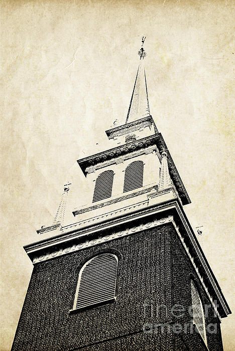 House Photograph - Old North Church In Boston by Elena Elisseeva