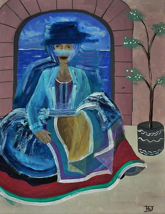Mother Painting - Old Soul by Barbara St Jean