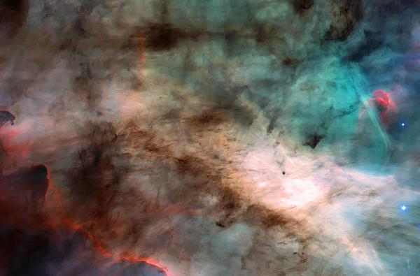 Nebula Photograph - Omega Swan Nebula 1 by Jennifer Rondinelli Reilly - Fine Art Photography