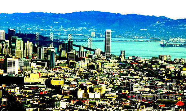Jim Fitzpatrick Photograph - On Twin Peaks Over Looking The City By The Bay II by Jim Fitzpatrick