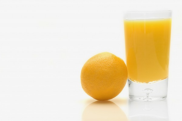 Beverages Photograph - Orange And Orange Juice by Darren Greenwood