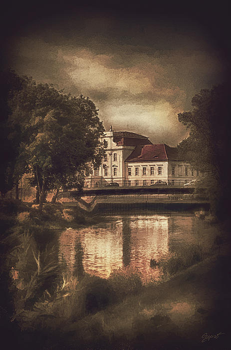 Castle Painting - Oranienburg Palace by Gynt