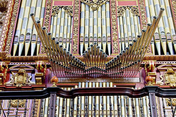 Cordoba Photograph - Organ In Cordoba Cathedral by Artur Bogacki