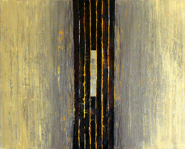 Abstract Painting - Origin by Wenli Liu