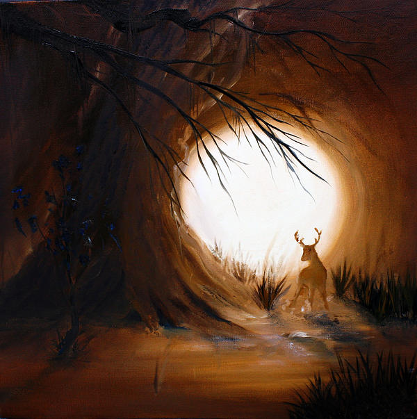 Out Painting - Out For The Hunt by David Kacey