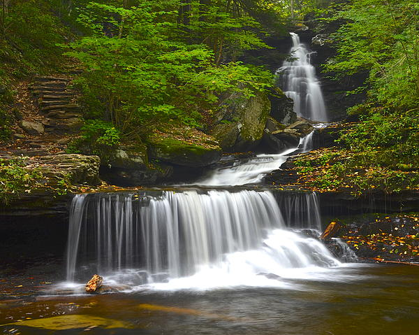 Rickett Photograph - Ozone Falls by Frozen in Time Fine Art Photography
