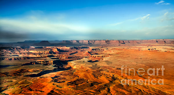 Rock Formations Photograph - Painted Canyonland by Robert Bales