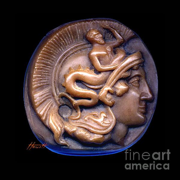 Portrait Sculpture - Pallas Athene by Patricia Howitt