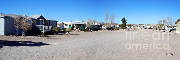 Cedar Cove Rv Park Photograph - Panorama Cedar Cove Rv Park Street 4 by Roena King
